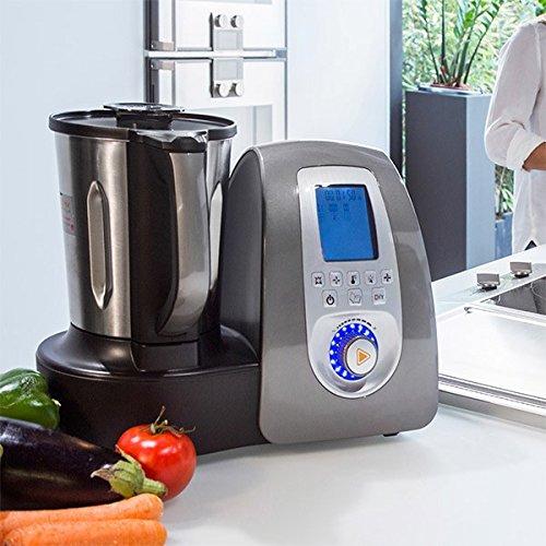 Cecomix C04010 Robot de cocina multifunción 1500 W, 3.3 litros, PU|Acero Inoxidable, Plata