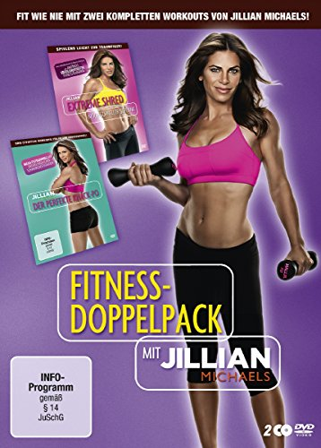 Jillian Michaels Fitness Doppelpack (Exklusiv bei Amazon.de) [Limited Edition] [2 DVDs] (Dvd Tracy Methode Anderson)