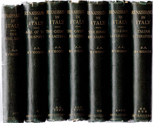 The Renaissance in Italy complete set - in 7 volumes