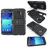 Fetrim Coque Samsung Galaxy S6, Coque Galaxy S6 Armure Support TPU Silicone +...