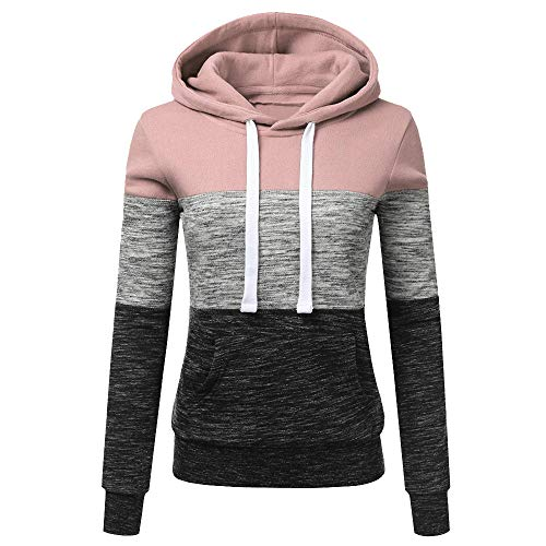 b8437f9fda5f JERFER New Store Big Discount Womens Hoodies Sweatshirt Patchwork Ladies  Hoodies Sweatshirt Pullove