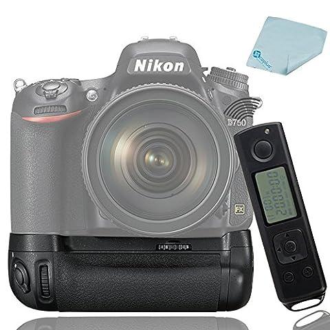 Meike MK-DR750 MB-D16 Built-In 2.4G Wireless Kontrol Battery Griff für EN-EL15 Nikon D750 DSLR Camera
