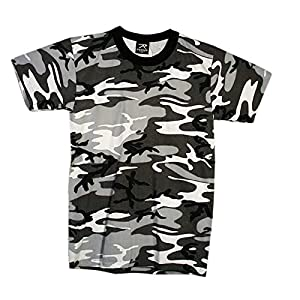 Mil-Tec US Army T-Shirt Camouflage léger