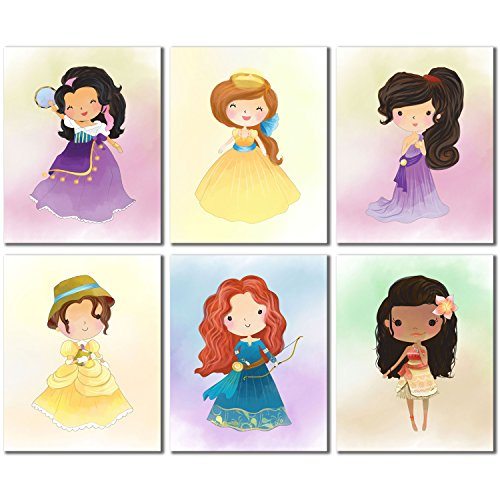 Disney Princess Kids (Set Vier-6Prints)