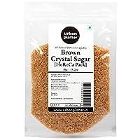 Urban Platter Brown Crystal Sugar, 1Kg / 35.2oz [Crunchy & Flavourful] [HoReca]