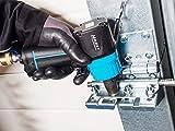 HAZET Druckluft-Schlagschrauber (extra kurz, max. Lösemoment 1400 Nm, Vierkant 12,5 mm (1/2 Zoll), empfohlenes Drehmoment 620 Nm, Hochleistungs-Doppelhammer-Schlagwerk) 9012MT - 8