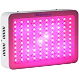 Roleadro 300W Lampe de Culture Croissance et Floraison Horticole Lampe pour Plante avec Crochet IR UV Licht