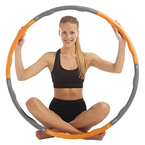 Just be. Fitness Hula Hoop Orange
