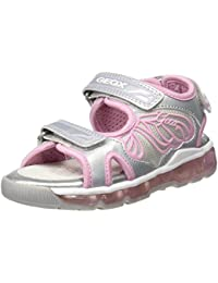 Geox Mädchen J Sandal Android Girl A Offene Sandalen