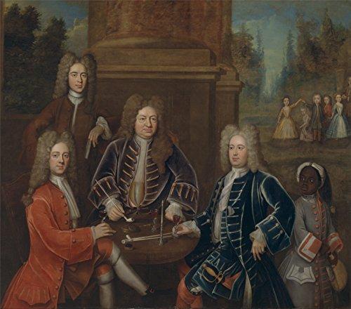 Yale Frames (Elihu Yale 2nd Duke Of Devonshire - Medium - Archival Matte - Brown Frame)