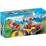 Playmobil-9130 Quad de Rescate de Montaña (9130