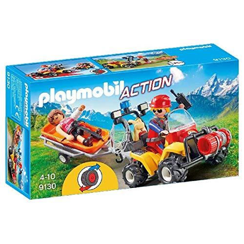 Playmobil-9130 Quad Rescate Montaña 9130