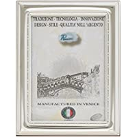 CLASSICA Cornice per Foto Portafoto Argento Artigianale Made in Italy Foto ca.13x18 cm