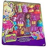 Polly Pocket Deluxe Mode Set - Puppe mit Kleidung, Schuhen und Accesoires (20-tlg) Set Crissy