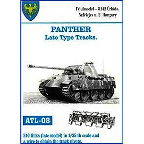 Friulmodel ATL08 1/35 Metal Track Link Set for Panther A-G