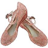 Little-Peach L-Peach Sandalias de Princesa Para Ninas Disfraz Para...