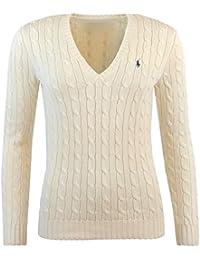 Ralph Lauren - Pull - Femme beige ivoire M
