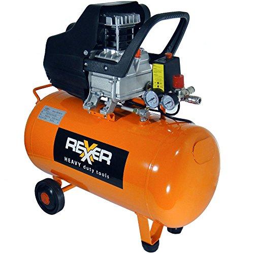 Preisvergleich Produktbild Kompressor 50 L (1,5 kW, 2,0 PS, Ansaugleistung 200 l / min, 8 bar)