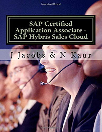 SAP Certified Application Associate -  SAP Hybris Sales Cloud