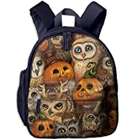 Cute Owl Student Backpack School Bag Super Bookbag