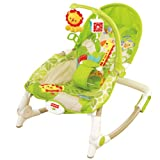 Fisher-Price BCD29 Newborn-to-Toddler Portable Rocker