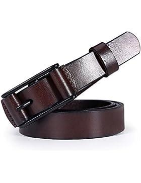 Joker Simple Adornado Cinturón De Los Pantalones Vaqueros/Envoltura Pin Hebilla Cuero Cinturón Retro