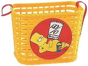 Los Simpson - Cesta de Bicicleta (Saica Toys 0151)
