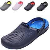 Nishiguang Unisex Adults Lightweight Clogs Garden Shoes Beach Sandals Summer Slip-On Breathable Casual