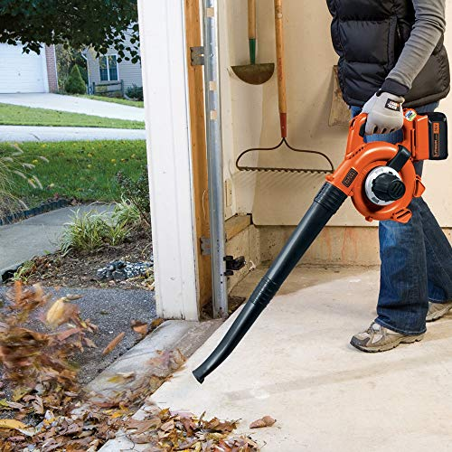 BLACK+DECKER 36 V Lithium-Ion Blower Vacuum