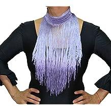 ANUKA Flecos de cuello para danza flamenco o sevillanas