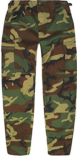 Kinder Kids Rangerhose Freizeithose Farbe Woodland Größe XL/158-164 (Mädchen Schule Uniform Hose)