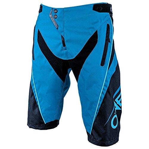 O'Neal Element FR Shorts Blocker MTB Hose Kurz Fahrrad Mountain Bike Sport DH Downhill, 1078, Farbe Blau, Größe 28