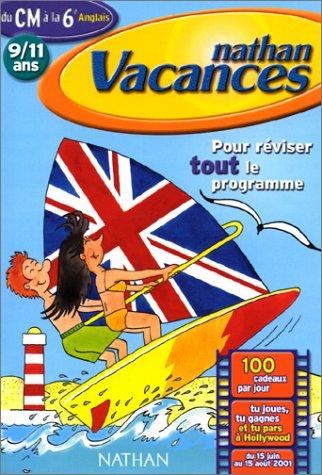 Cahier de Vacances 2001 : primaire anglais CM2-6e