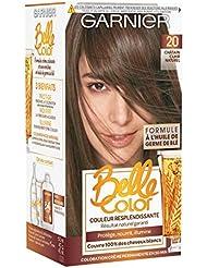 Garnier - Belle Color - Coloration permanente Châtain - 20 Châtain clair naturel