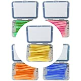 Yiwa interdentaire Brosse de nettoyage 20pcs/Box Forme de l Push-Pull Oral Care dents dent de nettoyage Brosse...