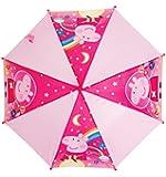 Childrens Pink Peppa Pig Umbrella