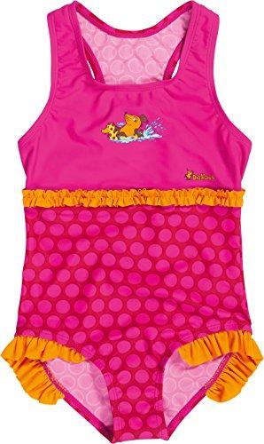 Playshoes Mädchen Uv-Schutz Badeanzug die Maus Punkte Einteiler