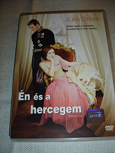 Preisvergleich Produktbild Én és a hercegem (2004) The Prince and Me / Julia Stiles / ENGLISH and HUNGARIAN Sound / English,  Hungarian,  Czech and Polish Subtitles [European DVD Region 2 PAL]