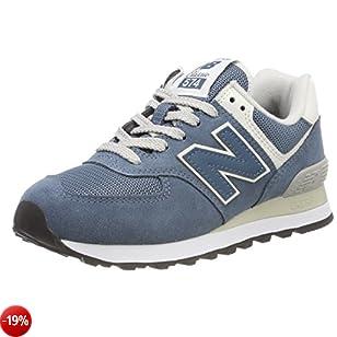 New Balance 574v2, Sneaker Donna, Blu (Light Petrol/Light Petrol CRB), 40 EU