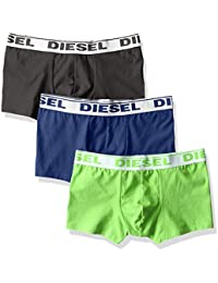 Diesel Men's Polycotton Trunks (Pack of 3)
