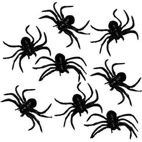 8-schwarze-dehnbare-gummi-spinnen-7cm