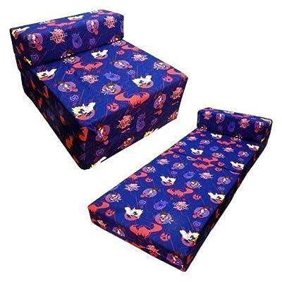 Shopisfy - Sofá cama Z para niños con diseño de personajes, Bakugan