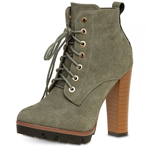 CASPAR Fashion, Stivali donna Grigio