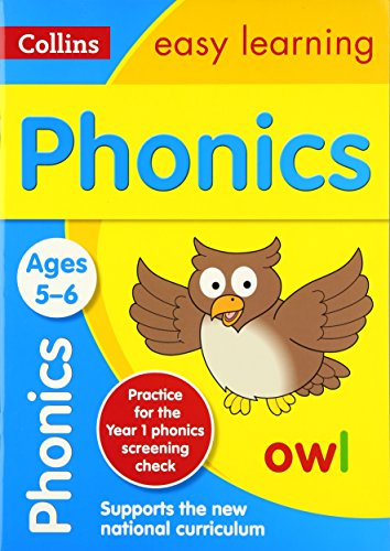 Phonics Ages 5-6: New Edition (Collins Easy Learning KS1) por Collins Easy Learning