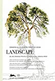 Landscape: Drawing & Colouring Practise Book: drawing & colouring practice book