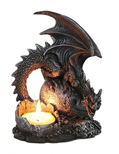 Dragón portavelas Dragon Figura Candelabro Gótico Dragón