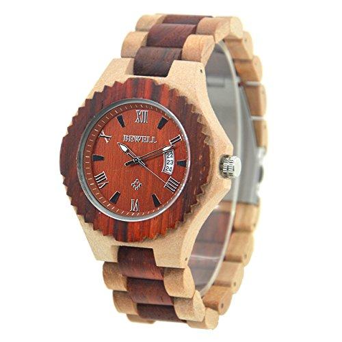 bewell-fatto-a-mano-in-legno-orologio-per-uomini-con-il-calendario-zs-129a-jujube-and-red