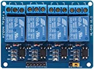 four 4 Channel 5V Relay Module Board Arduino raspberry pi