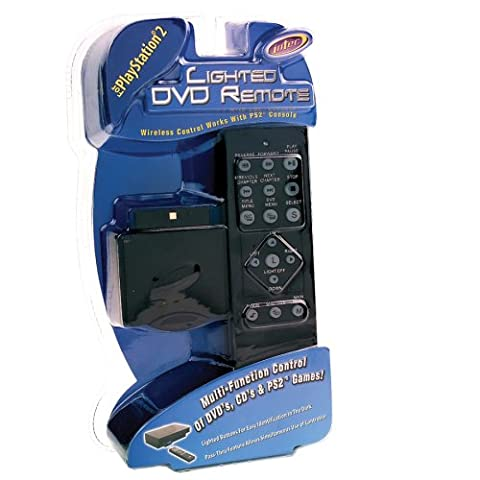 PS2 - Lighted Dvd Remote - Ps2 Dvd Remote