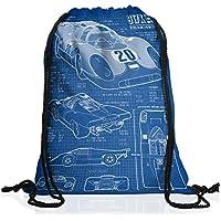 style3 917K Cianografia Borsa da spalla sacco sacchetto drawstring bag gymsac le mans